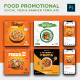 Social Media Food Promotion Ads Banner - GraphicRiver Item for Sale