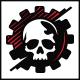 Dead Gear Skull Logo Template - GraphicRiver Item for Sale