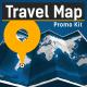 Travel Map - Promo Kit - VideoHive Item for Sale