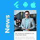 Short News Android App + iOS App Template | FLUTTER 2 | QuNews - CodeCanyon Item for Sale