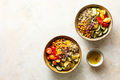 Healthy grilled zucchini buddha bowls with chickpeas - PhotoDune Item for Sale