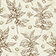 Vintage Seamless Pattern with Coffee Plant - GraphicRiver Item for Sale