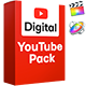 Youtube Pack Digital | Final Cut - VideoHive Item for Sale