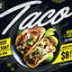 Taco Flyer - GraphicRiver Item for Sale