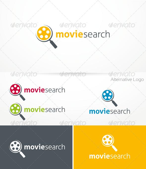Movie Search Logo Template