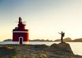 Man exploring the coast line at sunset - PhotoDune Item for Sale