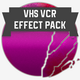 VHS Video Recorder VCR Sounds Effect Pack