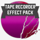Tape Recorder Sounds Effect Pack