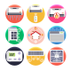 50 Air Conditioning Icons - GraphicRiver Item for Sale