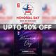 Memorial Day Flyer Bundle - GraphicRiver Item for Sale