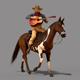 Cowboy Guitar - GraphicRiver Item for Sale