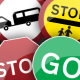 UK Road Signs: Giving Orders - GraphicRiver Item for Sale
