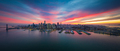 San Francisco Skyline with Dramatic Clouds at Sunset - PhotoDune Item for Sale