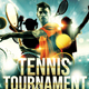 Tennis Racket Sports Flyer - GraphicRiver Item for Sale