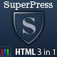 SuperPress Theme, Business+Portfolio+Magazine HTML - ThemeForest Item for Sale