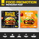 Special Food Social Media Post Banner Template - GraphicRiver Item for Sale