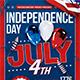 Independence Day Flyer Template V6 - GraphicRiver Item for Sale