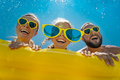 Spring break! Happy family having fun on summer vacation - PhotoDune Item for Sale