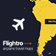 Flightro - Airplane Travel Maps - VideoHive Item for Sale