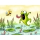 Frog Catch A Bee - GraphicRiver Item for Sale