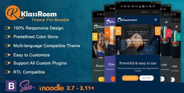 Klassroom - Premium Moodle Theme