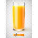 Vector Realistic Glass of Fruit Juice - GraphicRiver Item for Sale