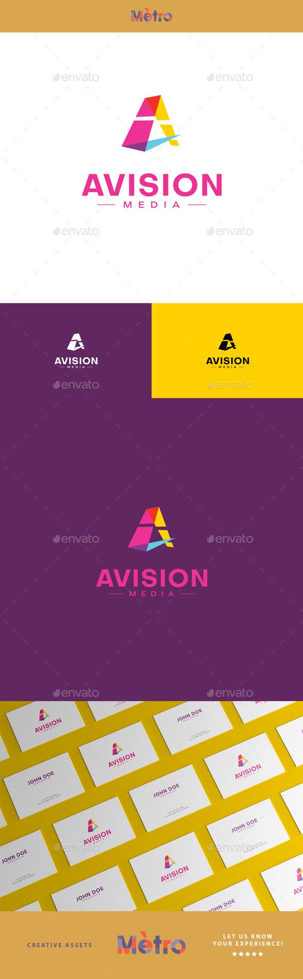 AVISION - Letter A Logo