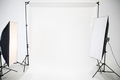 Studio is empty of the photographer with professional lighting. - PhotoDune Item for Sale