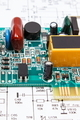 Printed circuit board and diagram of electronics. Technology - PhotoDune Item for Sale