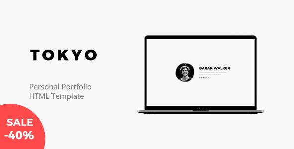 Tokyo - Personal Portfolio Template