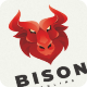 Bison - Logo Template - GraphicRiver Item for Sale