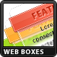 Glass Web Boxes - GraphicRiver Item for Sale