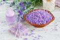 Natural handmade soap, sea salt and towel - PhotoDune Item for Sale