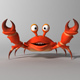 Cartoon Crab RIGGED and ANIMATED - 3DOcean Item for Sale