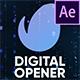 Digital Opener | Slideshow - VideoHive Item for Sale