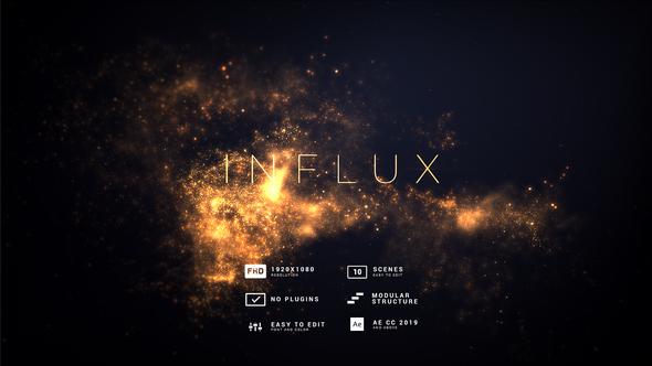 Influx | Flow Particles Titles