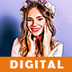 Digital Painting Photoshop Action - GraphicRiver Item for Sale