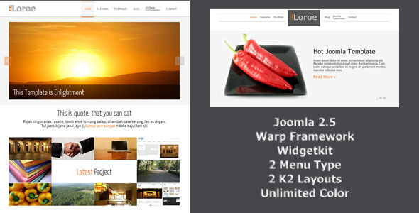Loroe - Responsip Joomla Template