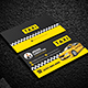 Taxi Business Card - GraphicRiver Item for Sale