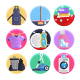 50 Home and Office Cleaning Icons - GraphicRiver Item for Sale