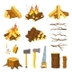 Wood Campfire - GraphicRiver Item for Sale