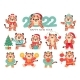Cute Tiger 2022 - GraphicRiver Item for Sale