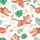 Baby Tiger Seamless Pattern - GraphicRiver Item for Sale