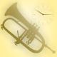 Atmospheric Melody Trumpet Logo