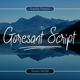 Goresant Script - GraphicRiver Item for Sale