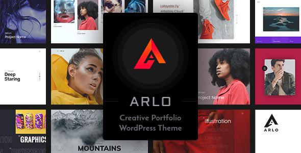 Arlo | Portfolio WordPress Theme