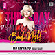 Ladies Night Club Flyer Template - GraphicRiver Item for Sale
