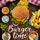 Burger and Steak Flyer Template - GraphicRiver Item for Sale