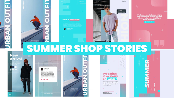 Summer Shop Stories Instagram
