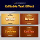 Modern 3d Editable Text Style Effect - GraphicRiver Item for Sale